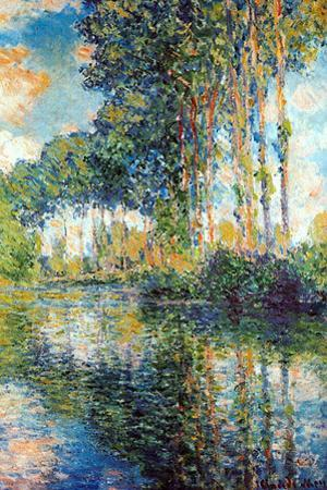 Claude Monet Poplars on the Epte by Claude Monet