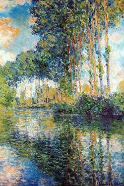 Claude Monet Poplars on the Epte by Claude Monet