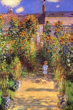 Claude Monet Seine Bank at Vetheuil by Claude Monet