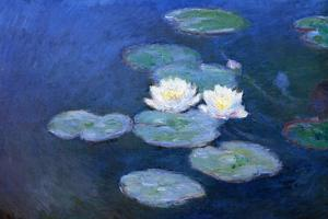 Claude Monet Water-Lilies 7 by Claude Monet