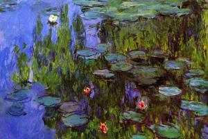 Claude Monet Water-Lilies by Claude Monet