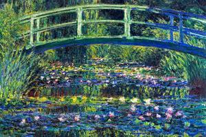 Claude Monet Water Lily Pond 2 by Claude Monet