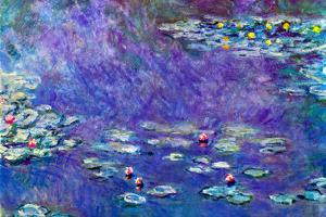 Claude Monet Water Lily Pond 3 by Claude Monet