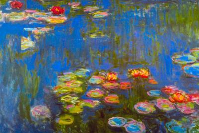 Claude Monet Waterlillies by Claude Monet