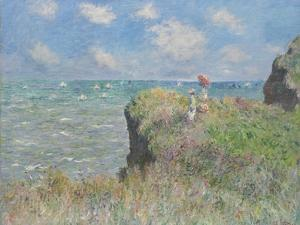 Cliff Walk at Pourville, 1882 by Claude Monet
