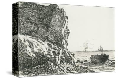 Cliffs And The Sea by Claude Monet