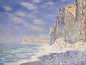 Cliffs Near Fecamp, 1881 by Claude Monet