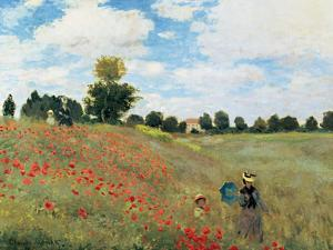 Coquelicots by Claude Monet