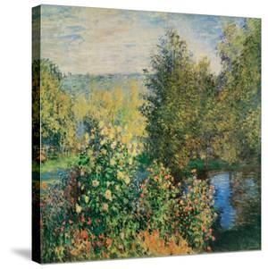 Corner of the Garden at Montgeron, c.1876 by Claude Monet