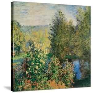 Corner of the Garden at Montgeron, c.1876 by Claude Monet