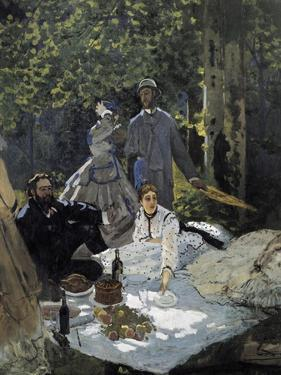 Dejeuner Sur L'Herbe, Chailly (The Luncheon on the Grass) by Claude Monet