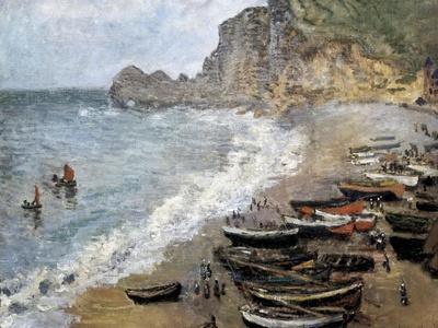 Etretat, Beach and the Porte D'Amont