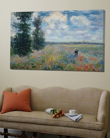Feild of Poppies by Claude Monet