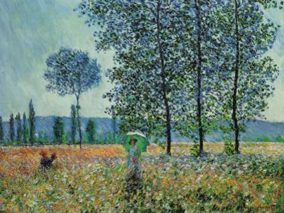 Felder im Frühling by Claude Monet
