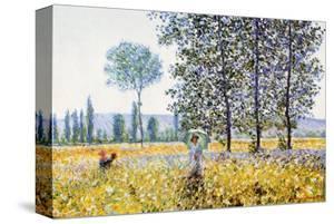 Field in Spring by Claude Monet