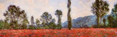 Field of Poppies (detail) by Claude Monet