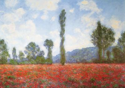 Field of Poppies by Claude Monet