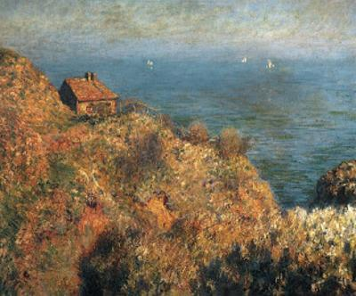 Fisherman's Lodge at Varengeville by Claude Monet