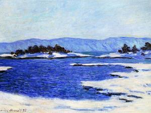Fjord at Christiania, Norway, 1895 by Claude Monet