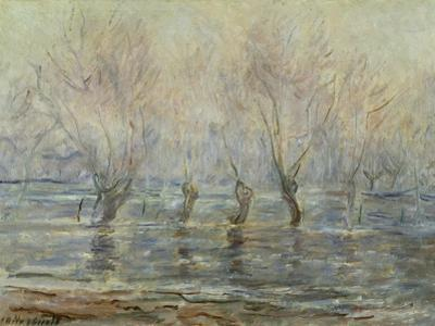 Flood in Giverny; L'Inondation a Giverny, C.1896 by Claude Monet