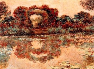 Flowering Arches Arceaux Fleuris by Claude Monet