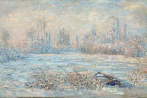 Frost, 1880 by Claude Monet