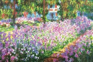 Claude Monet (Garden at Giverny)