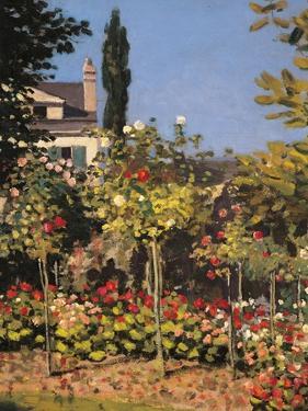 Garden at Sainte Adresse by Claude Monet