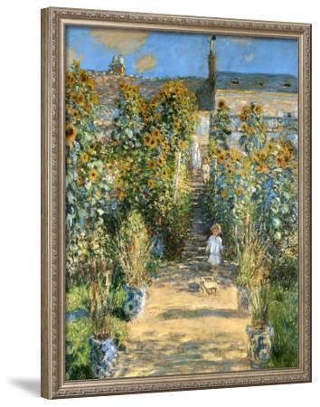 Garden at Vetheuil, 1881 by Claude Monet
