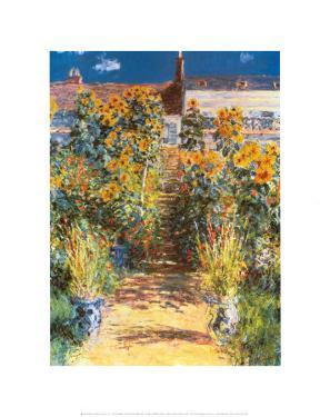 Garden at Vetheuil by Claude Monet