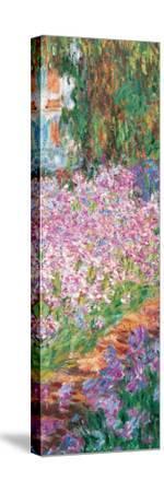 Garden (detail) by Claude Monet
