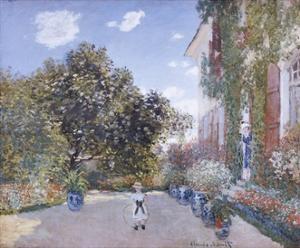 Garden of the Artist at Argenteuil by Claude Monet