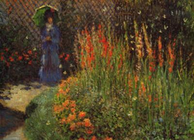 Garden Path by Claude Monet
