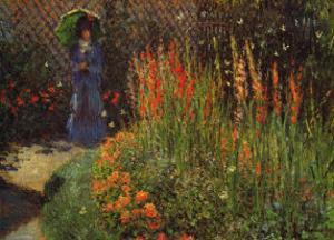 Garden Path by Claude Monet