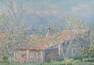 Gardener's House at Antibes, c.1888 by Claude Monet