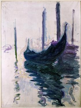 Gondolas in Venice, 1908 by Claude Monet
