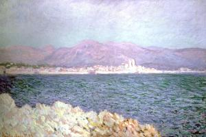 Gulf of Antibes, 1888 by Claude Monet