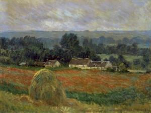 Haystack at Giverny by Claude Monet