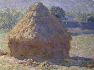Haystack, Late Summer, c.1891 by Claude Monet