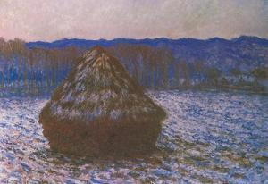 Claude Monet Haystacks 2 Art Print Poster