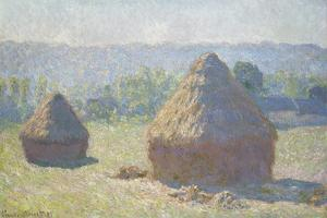Haystacks: End of Summer by Claude Monet