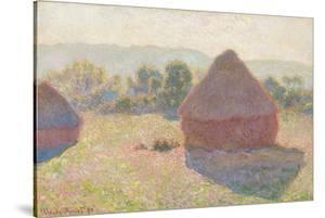 Haystacks, Midday, 1890 by Claude Monet