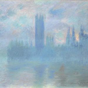 Houses of Parliament, London, 1900-01 by Claude Monet