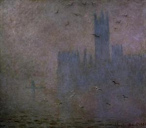 Houses of Parliament, Seagulls, 1904 by Claude Monet