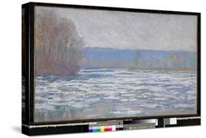 Ice breaking up on the Seine near Bennecourt, 1893 by Claude Monet