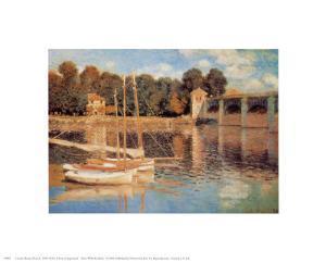 Il Pont d'Argenteuil by Claude Monet