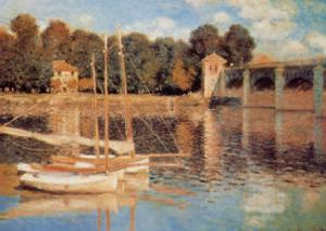 Il Pont d'Argenteuil by Claude Monet