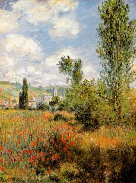 Ile Saint Martin, Vetheuil by Claude Monet