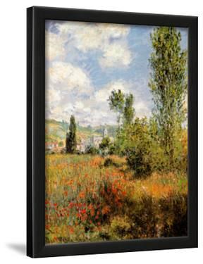 Ile Saint Martin, Vetheuil by Claude Monet