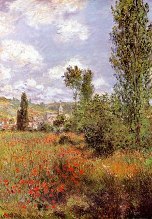 Ile St. Martin by Claude Monet